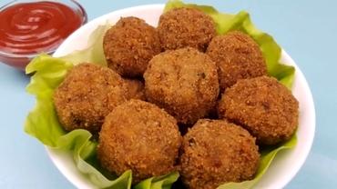 Cea mai delicioasă rețetă de post: chifteluțe din cartofi și ciuperci, prăjite sau la cuptor. Se face simplu și ușor
