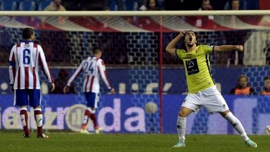 Atletico Madrid s-a făcut de RÎS în Cupa Spaniei pe teren propriu! Duel de 5 STELE cu Real Madrid în optimi