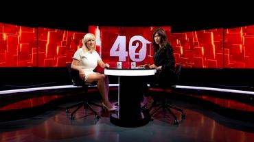 Elena Udrea a dezvăluit ce semnifică controversatul semn de la nas pe care l-a făcut în Parlament