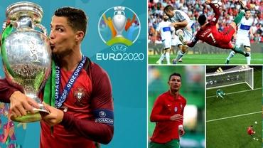 """Mașina de goluri"" Cristiano Ronaldo poate stabili 4 recorduri mondiale la EURO 2020!"