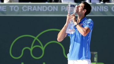 Nole scrie ISTORIE! A cîştigat la Miami după o finală spectaculoasă cu Murray