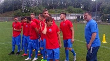 Galerie FOTO. Surpriză! Cum arată TRICOURILE de joc ale CSA Steaua