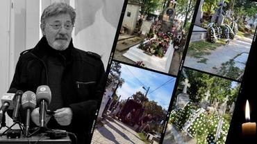 Ultimele aplauze pentru Ion Caramitru! Actorul a fost înmormântat la Cimitirul Bellu