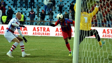 GALERIE FOTO / Oţelul - Steaua 1-1, în imagini, iar LOCUL 1 FUGE de stelişti!