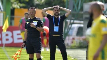 """Eugen Beza, acid după Mioveni - Hermannstadt 0-0: """"Nu merităm să rămânem în Liga 1"""""""