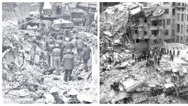 Imagini horror după cutremurul din 1977. Cum arăta Bucureștiul