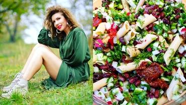 Rețetă de salată ideală pentru postul Paștelui a lui Carmen Brumă. Se face ușor, rapid și e delicioasă