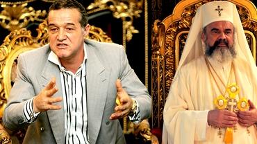 VIDEO / Gigi Becali cîntă cu Patriarhul Daniel în puşcărie