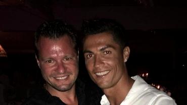 """Marius Niculae, șocat la reîntâlnirea cu Cristiano Ronaldo: """"Avea un cerc de bodyguarzi, s-a ridicat de la masă"""""""