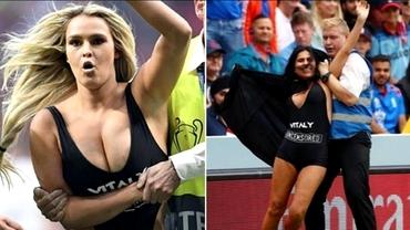 După Kinsey Wolanski şi mama prietenului Vitaly a intrat pe teren! S-a întâmplat la finala Campionatului Mondial de Cricket! Cum arată femeia de 47 de ani