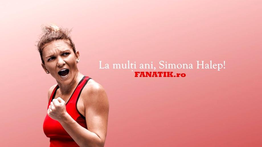 La mulți ani, Simona Halep! Numărul 1 WTA împlinește azi 27 de ani