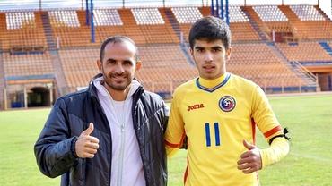 """Surik, fiul lui Arman Karamian are trei meciuri sub tricolor: """"Vreau să joc pentru România!"""" Exclusiv"""