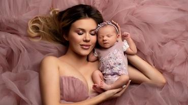 """Emily Burghelea, primul Paște alături de fetița ei. Dezvăluiri în exclusivitate despre cum va sărbători: """"Merg la Înviere cu cea mică"""""""