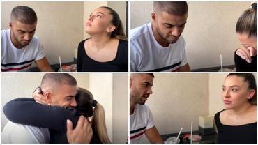 Culiță Sterp și-a făcut iubita să plângă. Daniela Iliescu, în lacrimi, după gestul făcut de partenerul său