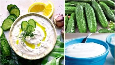 Rețetă sos tzatziki. Cum se prepară cel mai popular sos grecesc, simplu și rapid