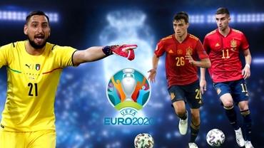 """Cel mai bun tânăr jucător la EURO 2020. Cote pentru """"Gigio"""" Donnarumma vs """"Pedri"""" Gonzalez Lopez"""