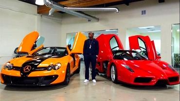 Colecția impresionantă de mașini de lux a lui Floyd Mayweather! Galerie foto cu garajul marelui pugilist