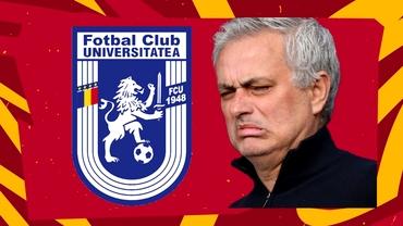 """De ce a picat amicalul FC U Craiova 1948 - AS Roma. Mourinho, refuzat de nou-promovată. """"Pe Olimpico veneau 100 de mii de olteni sau ce?"""""""
