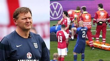 """Accidentarea lui Christian Eriksen, sub lupa unui medic din Premier League: """"Intervenția a fost rapidă și eficientă"""""""
