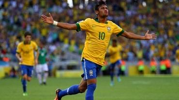 Dunga a DECIS! Neymar, cel mai tînăr căpitan din istorie