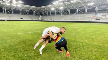 """""""Stejarii"""" au inaugurat stadionul Arcul de Triumf, unde vrea să joace şi FCSB. Cine a marcat primele puncte"""