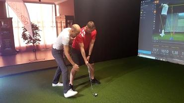 """Adrian Sasu i-a inițiat la Champ Du Golf pe handbaliștii de la Dinamo în tainele """"sportului regal"""". Cine a fost surpriza serii"""
