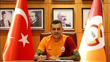 Oficial: Galatasaray anunță transferul lui Alex Cicâldău de la Universitatea Craiova. Primele imagini în tricoul galben-roșu. Update exclusiv