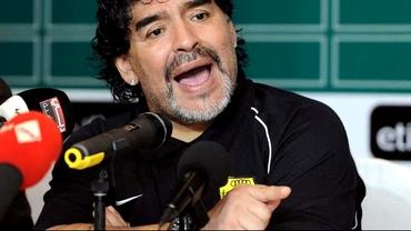 VIDEO scandalos cu Maradona! E acuzat că şi-a bătut iubita