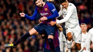 Barcelona - Real Madrid 1-1, în manşa tur a semifinalelor Cupei Spaniei. Messi, doar 30 de minute! Video cu rezumatul