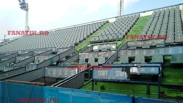 Cum arată Terenul Central de la Arenele BNR la patru ani de la ultimul meci! Rugină şi mizerie într-un loc istoric: