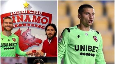 Portarii străini de la Dinamo din acest sezon, plătiți regește! Ce salariu are Eșanu, omul care duce greul. Exclusiv