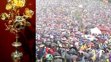 Ce simbolizează trandafirul de aur pe care Papa Francisc l-a oferit cadou la Șumuleu Ciuc