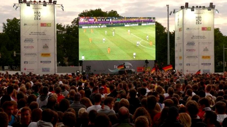 Unde putem vedea în București meciul România - Muntenegru
