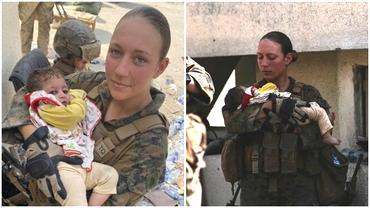Soldat american popular, ucis în atentatul din Kabul. Tânăra era apreciată pentru că îngrijea bebeluși afgani din aeroport