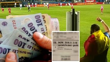 Foto. Lovitura de mii de euro la pariuri la Farul - Dinamo! Cât a câştigat pariorul