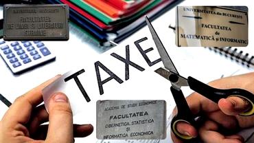 Anunţ important pentru studenţi! Ce se va întâmpla cu taxele universitare în perioada studiilor