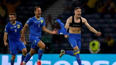 Programul sferturilor de finală de la Euro 2020. Ucraina, ultima calificată. Tabloul complet