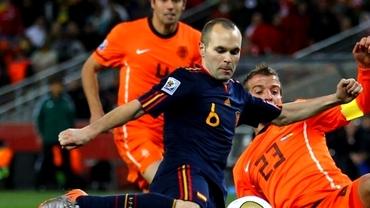 Naţionala Spaniei pierde o vedetă! Andrés Iniesta se retrage după Cupa Mondială!
