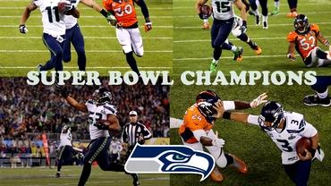 VIDEO / Seattle Seahawks a DEMOLAT-O pe Denver Broncos în finala Super Bowl
