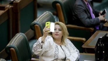 """Diana Șoșoacă, fără mască la Senat: """"Am venit în groapa cu hiene"""". Reacția premierului Nicolae Ciucă"""