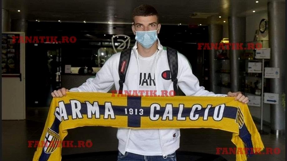 Valentin Mihăilă, transfer la Parma! Fotbalistul a semnat după ce a fost spectator la meciul cu Verona. Anunțul oficial al italienilor. Fanatik confirmat