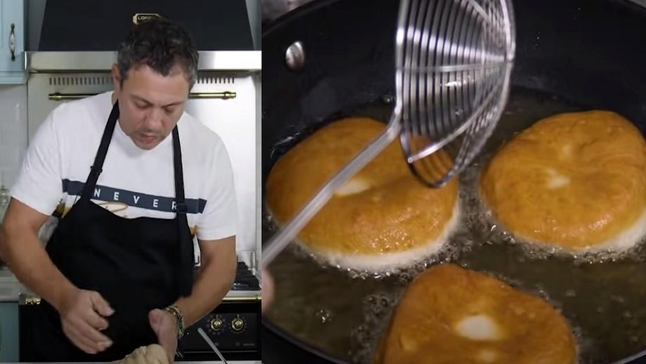 Rețetă de gogoși a la Sorin Bontea. Bucătarul de la Chefi la cuțite te învață cum să le faci pufoase