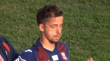 Scene șocante în Liga 4! Un fotbalist al Stelei a fost bătut cu bestialitate de un adversar! Imagini cu puternic impact emoțional!