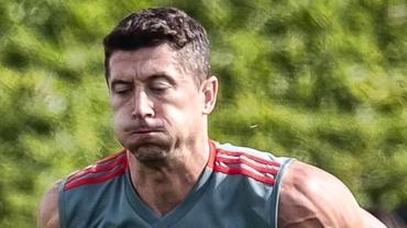 Robert Lewandowski s-a transformat în Hulk! Fanii lui Bayern Munchen s-au speriat:
