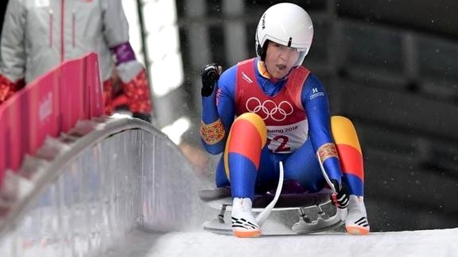 Fără pistă de sanie în ţară, Raluca a fost a 7-a la Olimpiada de iarnă! Culisele unui rezultat neaşteptat povestite de eroină!