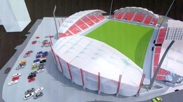 Un nou stadion în România! Când va fi gata arena.