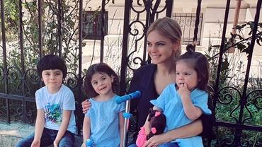 Lavinia Petrea, femeie de succes, mamă a trei copii și una dintre cele mai iubite prezentatoare. Cum se menține în formă? - Video