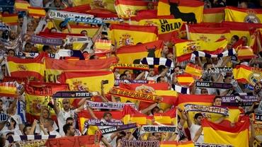 Foto. Ultraşii spanioli, pregătiţi de Mondial! Fanii lui Real Madrid şi Malaga s-au bătut în pădure