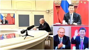 """Rusia și China și-au prelungit prietenia cu încă cinci ani. Vladimir Putin: """"Astfel de înțelegeri sunt vitale"""""""