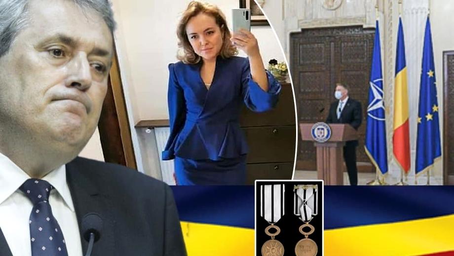 Asistenta lui Vela, decorată ilegal de Klaus Iohannis! Legea e clară: Gabriela Cenuşă nu îndeplineşte criteriile pentru a primi distincţia